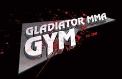 Gladiator Mixed Martial Arts gym logo