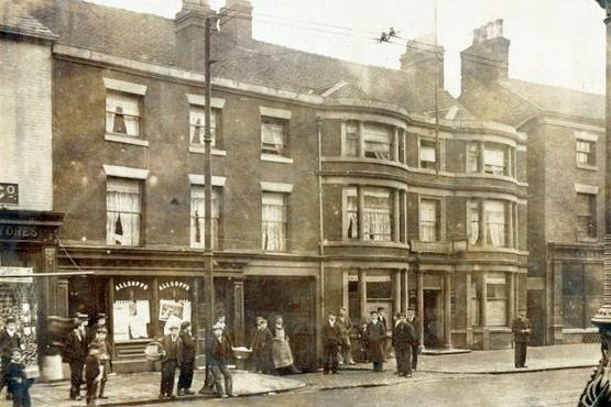 The Leopard in Burslem in around 1903