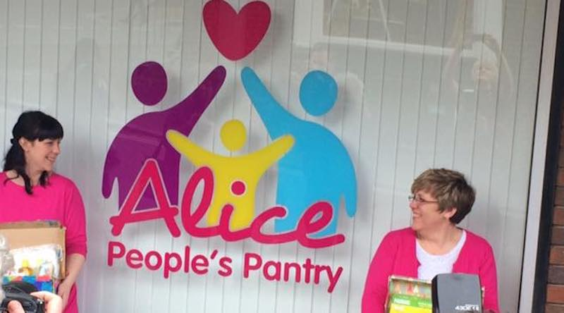 Peoples Pantry opening Alice Chsirty