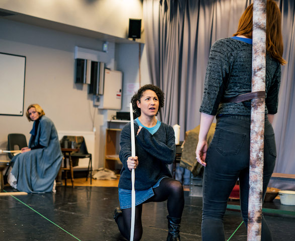 Playhouse creatures rehearsals
