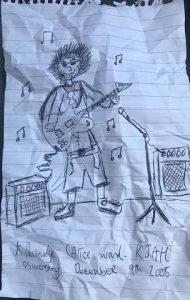 Kieran Pestridge drawing