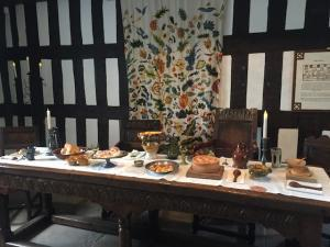 Dinner Table at Ford Green Hall