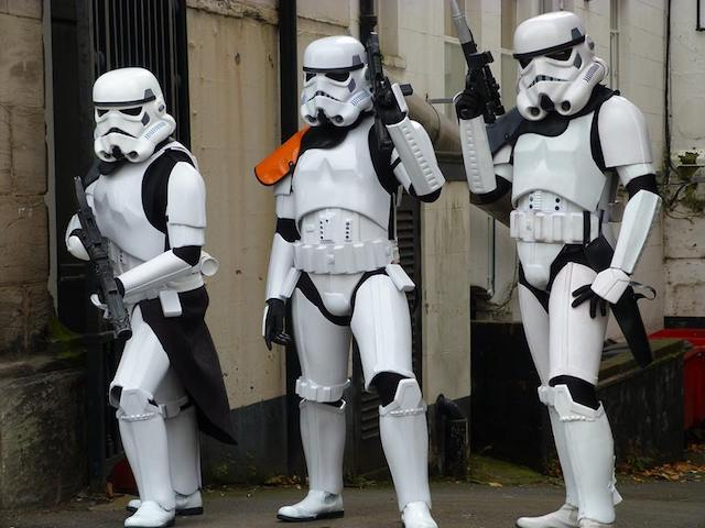 staffs imperial stormtroopers