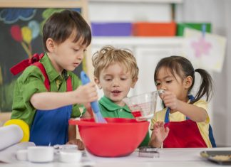 children-baking-at-school