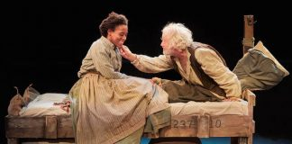 Krissi-Bohn-and-John-O-Mahony-in-Intemperance-at-the-New-Vic-Theatre.