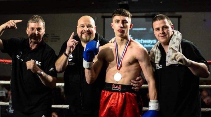 kickboxer-brad-finn-with-coaches-from-featherstone-gym