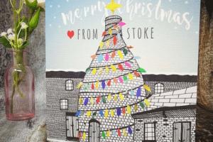 Bottle-oven-christmas-card